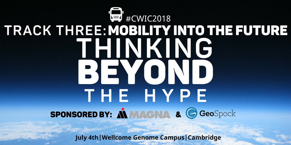 Mobility into the future CWIC 2018